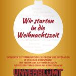 weihnachtliche Floristik & Deko bei UNVERBLüMT